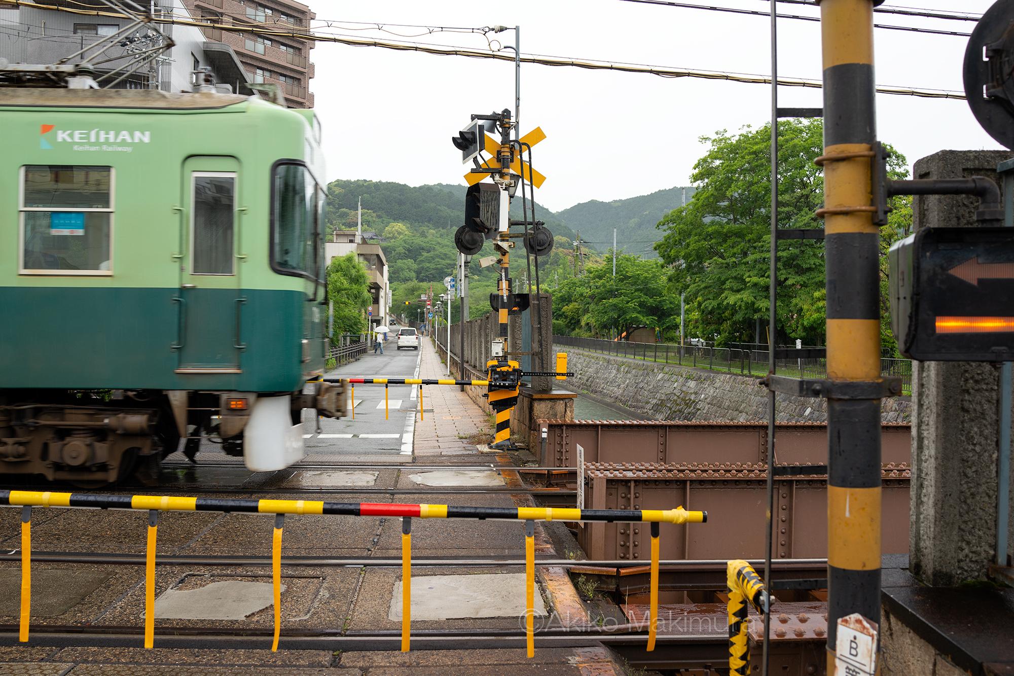 石山坂本線の三井寺駅